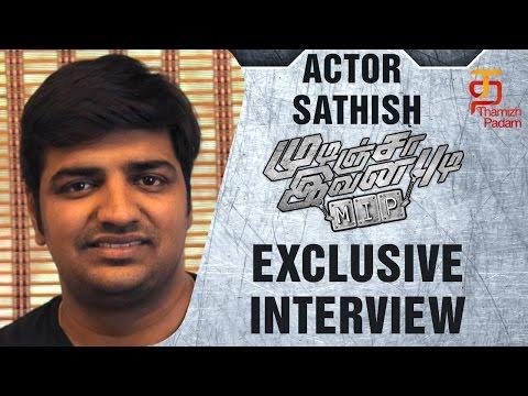 Actor Sathish Funny Speech | Mudinja Ivana Pudi | Exclusive Interview | Sudeep | Kotigobba 2