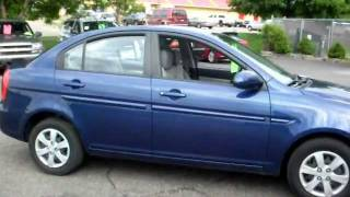 2008 Hyundai Accent GLS, 4 Door Sedan, 1.6 Liter 4cyl, Automatic, Air Conditioning!!!