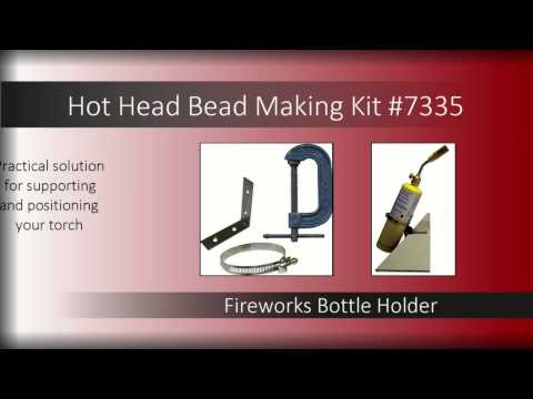 Hot Head Beadmaking Kit | Delphi Glass