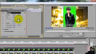 สอนตัดต่อ Adobe Premiere Pro CS3 เทคนิคการใช้ Color Key.