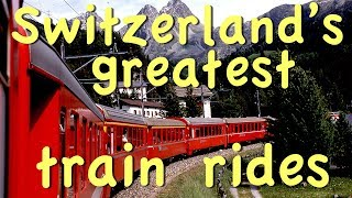 Video Great Swiss Train Rides MP3, 3GP, MP4, WEBM, AVI, FLV Agustus 2019