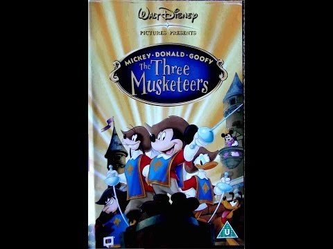 Digitized Opening To Mickey, Donald, Goofy: The Three Musketeers (2004 UK VHS)