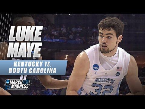 Kentucky vs. North Carolina: Luke Maye scores 17, including game-winner for UNC (видео)
