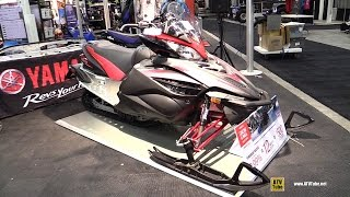 5. 2015 Yamaha APEX SE 1000 Sled - Walkaround - 2014 Toronto Snowmobile & ATV Show