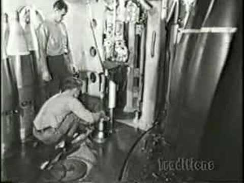 inch - An early training film on loading and firing the Iowa Class 16