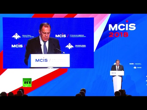 Лавров выступает на конференции по безопасности в Москве - DomaVideo.Ru