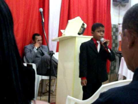 Lucas - Aracaju / SE. (Igreja Casa da Benção em Pinhão)