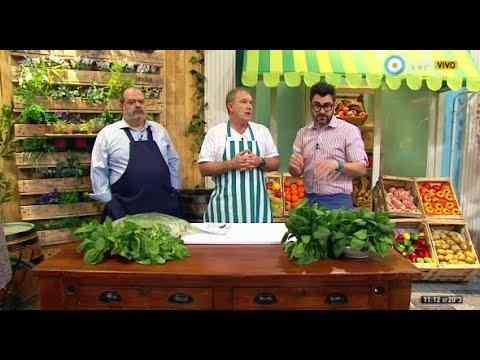 Propiedades de la espinaca con Adrián Schirosa