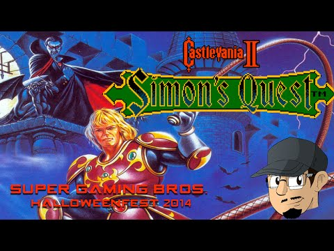 Simon - It's been a while since a Castlevania game has been done here, and here's the reason why. The next game up is Simon Quest, the franchise's first attempt at a non-linear styled Castlevania adventure...