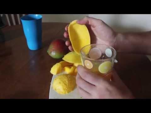 come sbucciare un mango