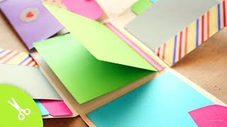 "Album Scrapbook ""Fold"" // idea regalo - YouTube"