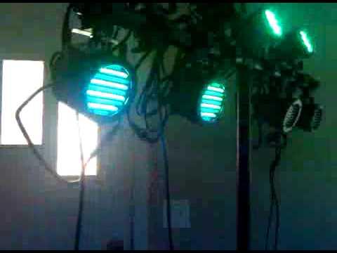 New Lights Chauvet ColorSplash Jr.'s