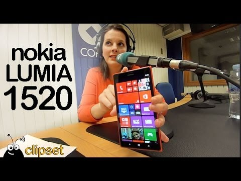 Nokia Lumia 1520 review Videocast