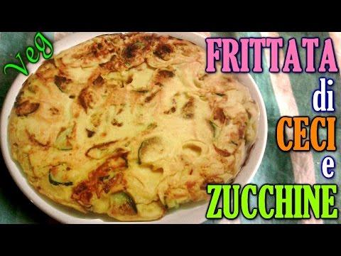 videoricetta frittata senza uova con zucchine, cipolla e pomodoro secco