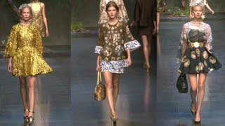 Nonton Dolce And Gabbana Spring 2014 Runway   Fashion Week Spring 2014 Film Subtitle Indonesia Streaming Movie Download