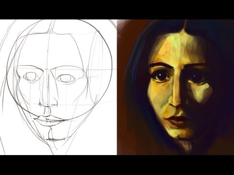 Portrait Malen 01