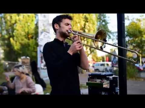 Amazing Live Trombone Tribal Lounge Music 16PROD in Berlin, Germany
