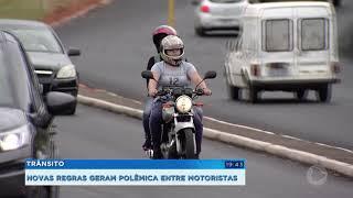 Mudanças na lei de trânsito geram polêmica