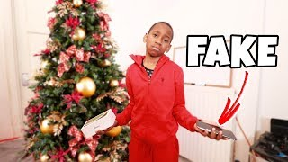 I Bought Him A Fake iPhone XS Max For Christmas **PRANK!** ($1,000)