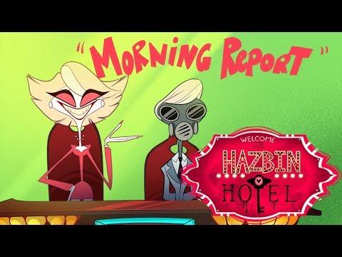 "HAZBIN HOTEL -""Morning Report"" -(CLIP)- NOT FOR KIDS"