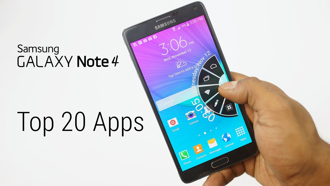 "Descargar Top 20 ""Must Have"" Android Apps (Galaxy Note 4) – Part 1 – AT#28 para Celular  #Android"