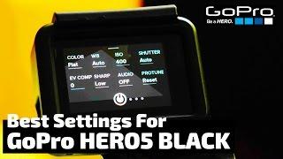 Video The Absolute BEST Settings for the GoPro Hero5 Black | RehaAlev MP3, 3GP, MP4, WEBM, AVI, FLV September 2018