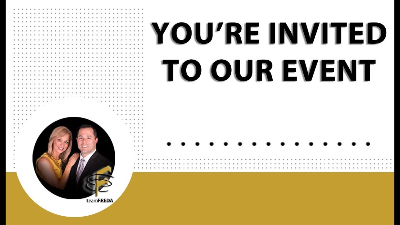 Join Us for Our Upcoming Live Event: