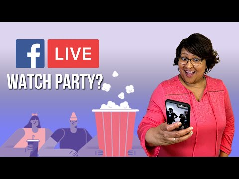 Watch 'How to Go Live in a Facebook Watch Party '