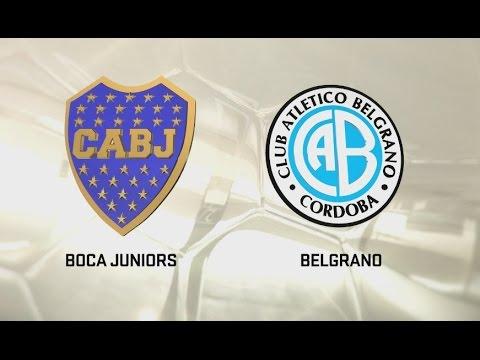 Boca vs. Belgrano. Fecha 2. Torneo de Primera División 2016/2017. FPT