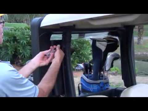 Golf Cart gizmo for Gloves, Hats, Towels