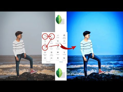 New Snapseed Photo Editing || Heavy Photo Editing || Best Color Effect Android App