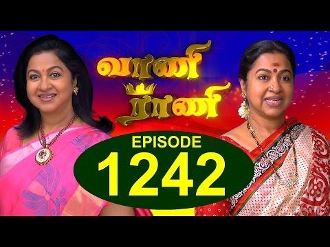 Vaani Rani - Episode 1242 - 21/04/2017