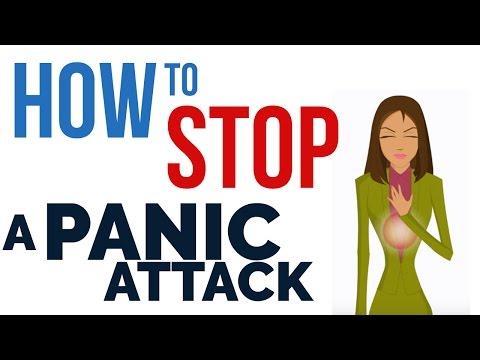 agorafobi med panikkangst