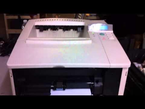 HP LaserJet Printer 4000