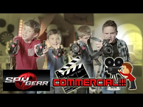 spy - During our visit to Toronto earlier, Evan had the opportunity to be in an official Spy Gear commercial. Evan had ride up on his bike and warn his friend that his parents were coming home,...