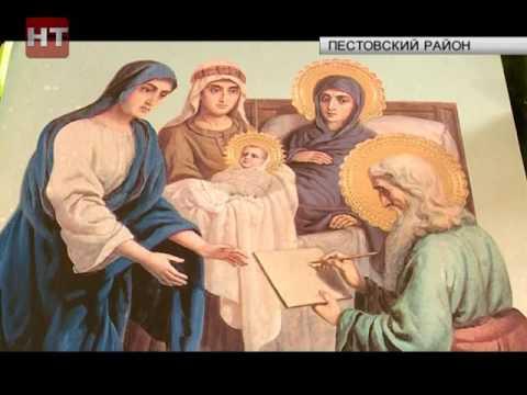 В храме Святой Троицы в селе Охона прошла торжественная литургия