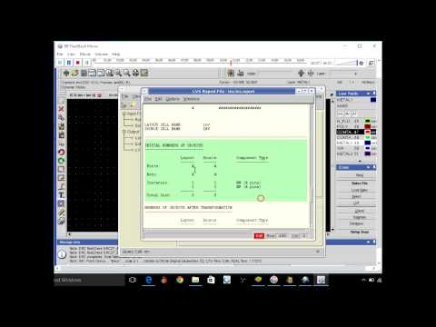 Mentor Graphics: A tutorial of Layout Design