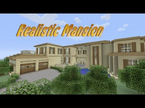 Minecraft Realistic Mansion