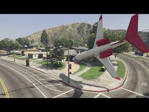 GTA 5 faile z samolotami
