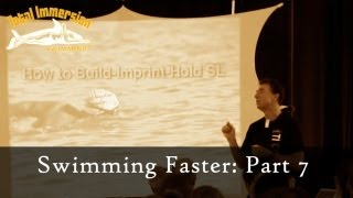 Swimming Faster Presentation Part 7 - Speed by the Numbers: Count Strokes, Not Yards