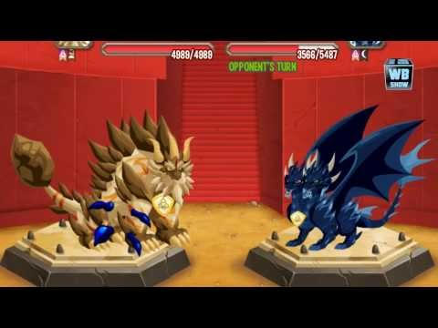 Dragon City: Halloween Island - BATTLE 7 [Pure Dark Dragon]