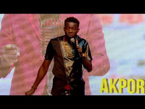 AKPORORO CHASED OFF STAGE @ KISS DANIEL LAUNCH