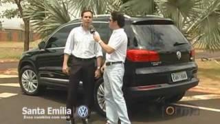 Test Drive TIGUAN 2012 - Santa Emília Volkswagen No Programa Forma