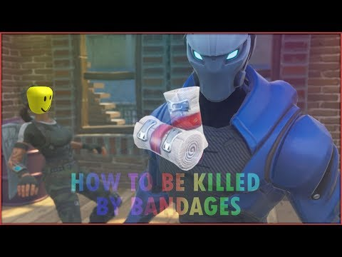 HOW TO BE KILLED BY BANDAGES