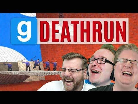In Garrys Mod Deathrun rennen alle um ihr Leben!