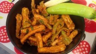 Mirichi Baby Corn Fry or milagai corn fry