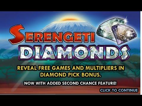 Serengeti Diamonds Slots (TTG) Big Win and Bonus - Play for real