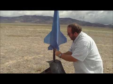 rocket - We are out in Utah's West Desert firing off model rockets. It was a lot of fun and I have never seen something like this before, it was a great experience!