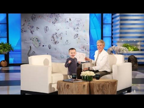 Ellen Meets a 5YearOld Geography Expert