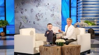 Video Ellen Meets a 5-Year-Old Geography Expert MP3, 3GP, MP4, WEBM, AVI, FLV Maret 2019